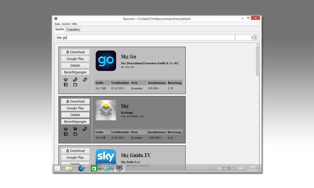 Sky Go App Runterladen