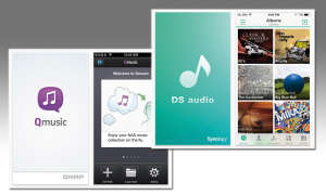 Ds Audio und Q Music Apps