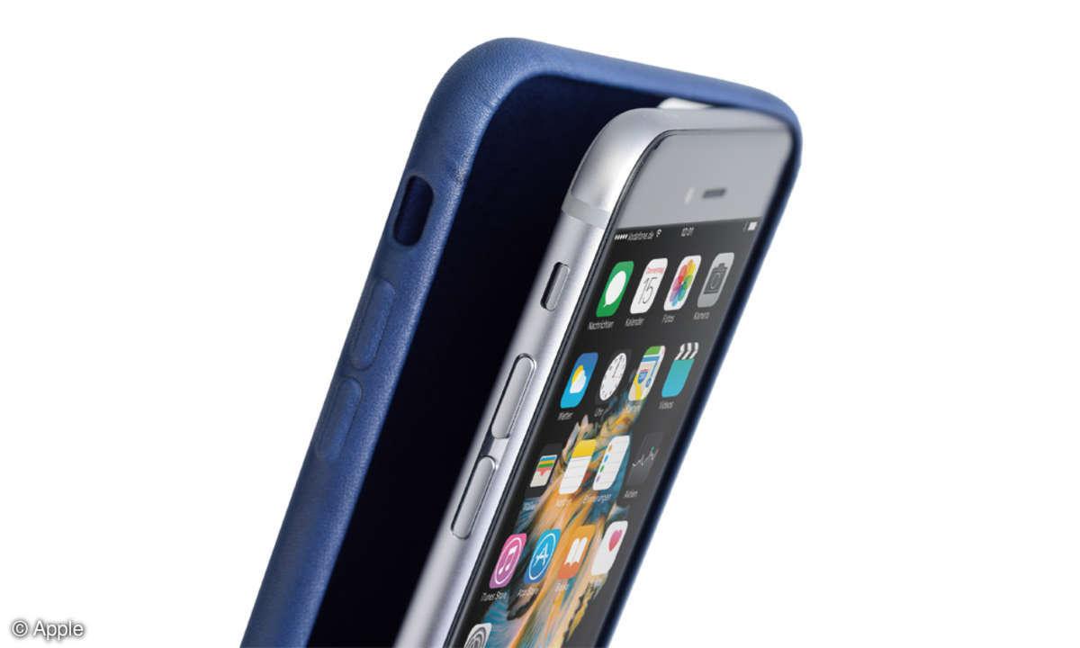 iPhone 6s Plus mit Hülle