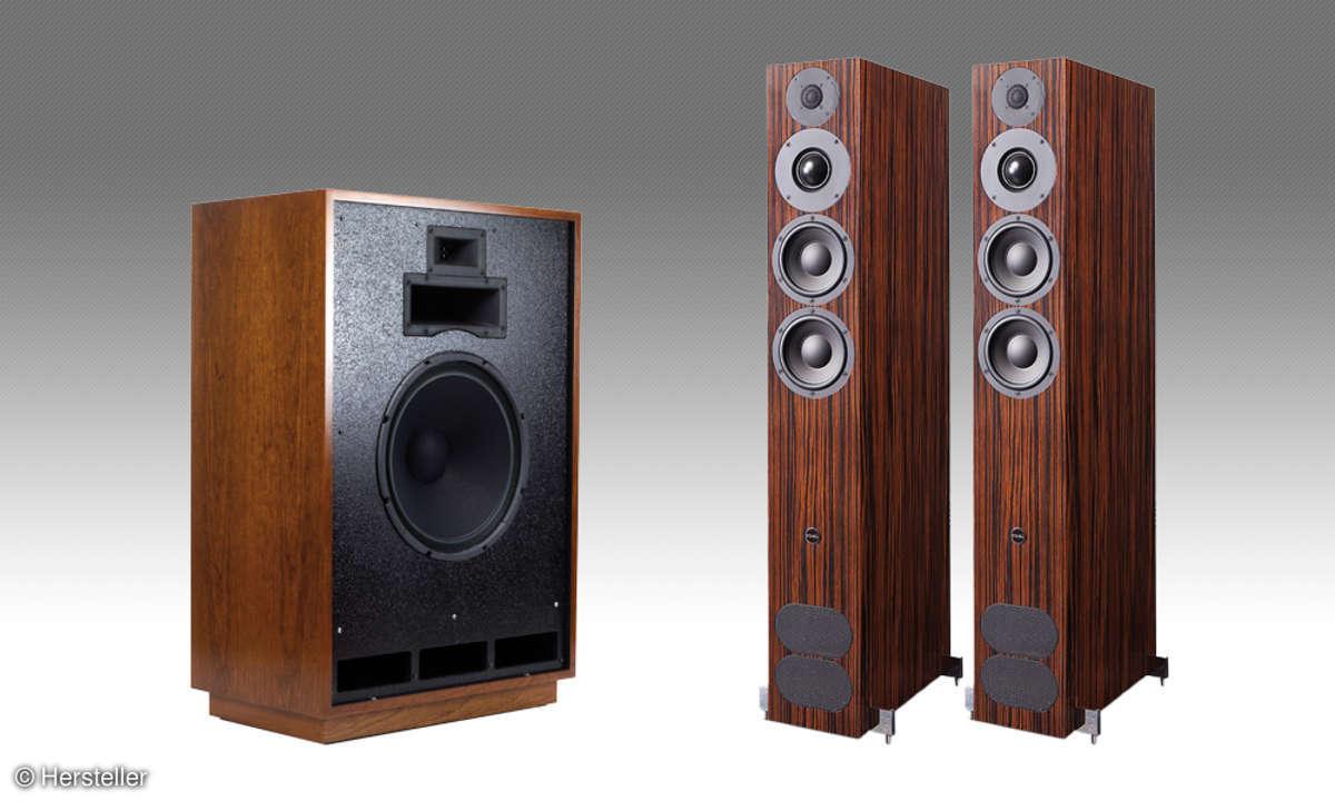 Lautsprecher von Klipsch & PMC
