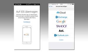 Umsteiger App von Android zu iOS