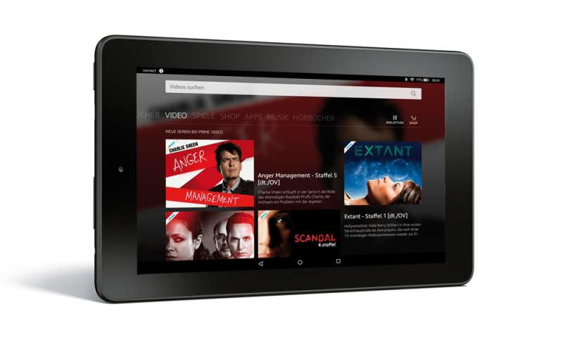 amazon fire 7 im test 7 zoll tablet von amazon connect. Black Bedroom Furniture Sets. Home Design Ideas