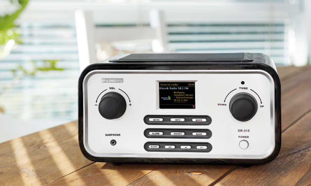 Albrecht Hybridradio DR 315 C
