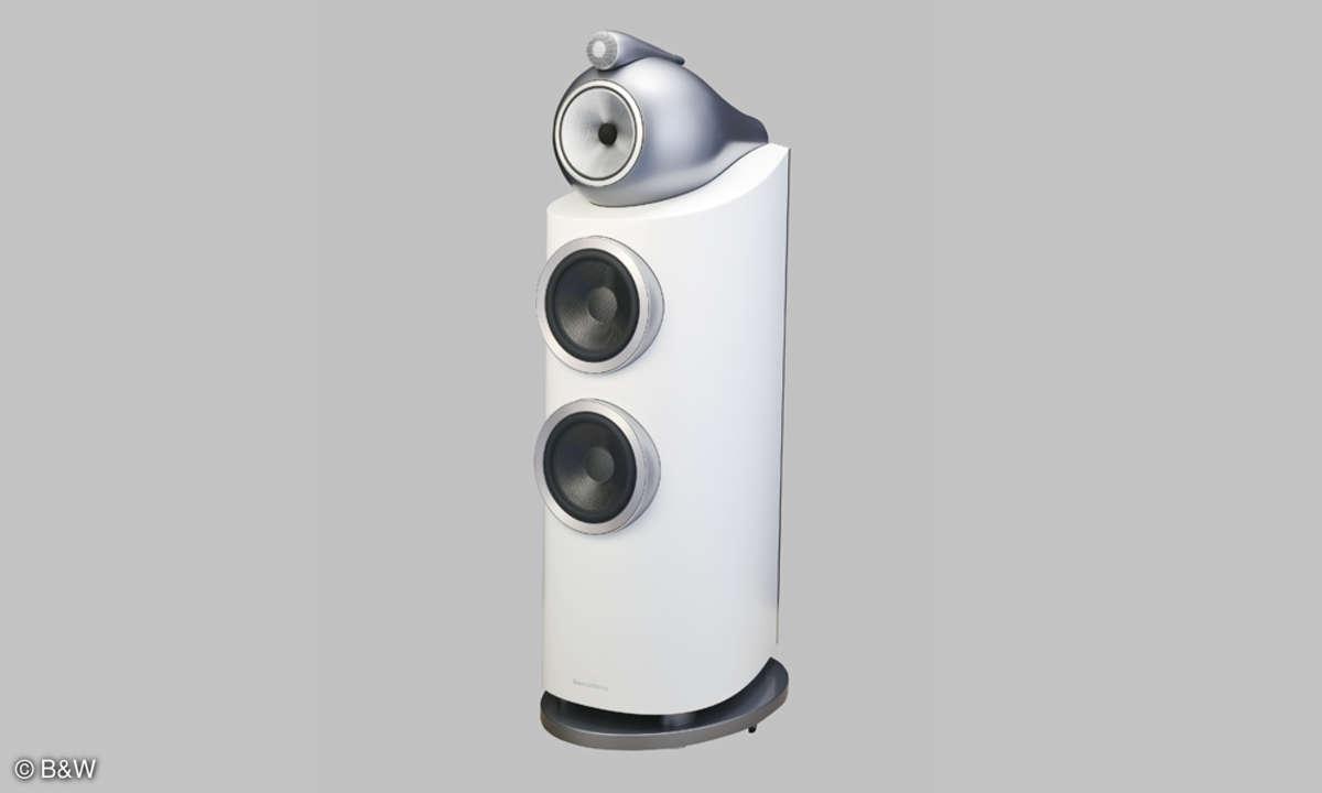 B&W 802 D3 Standboxen