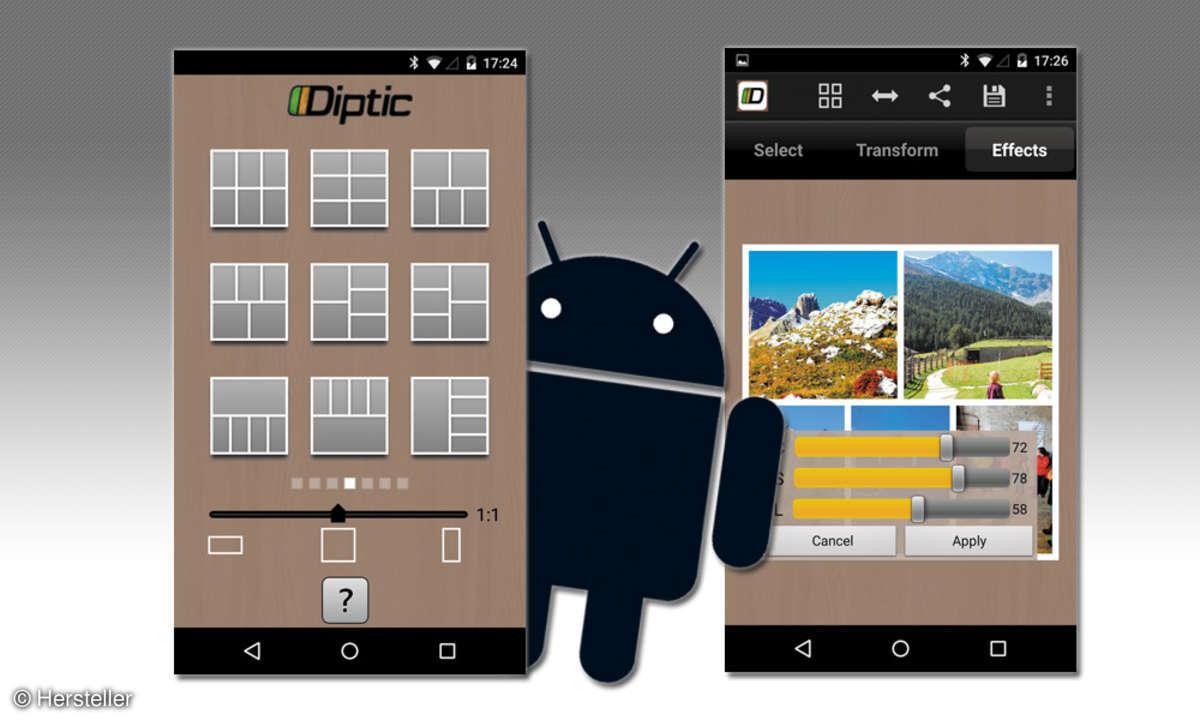 Diptic Fotocollagen-App (Android)