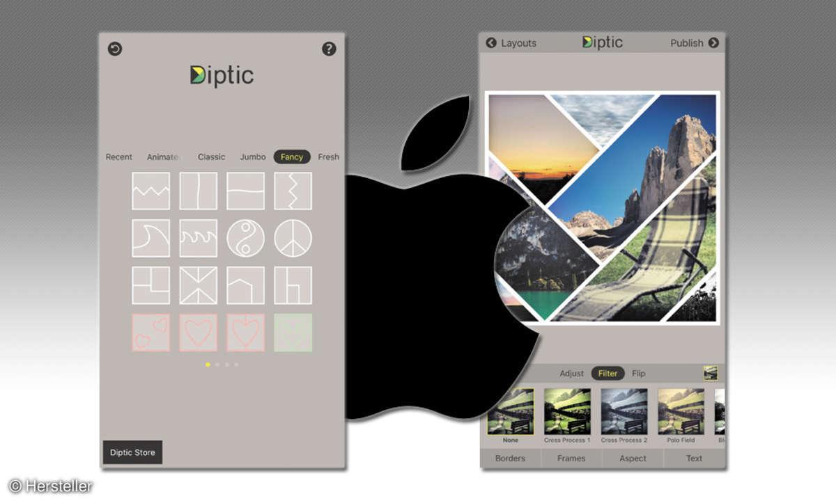 Diptic Fotocollagen-App (iOS)