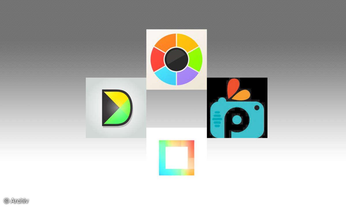 Fotocollagen-Apps im Vergleichstest