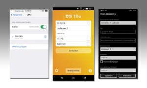 VPN-Zugriff vom Smartphone