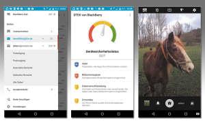Screenshots: Blackberry Priv