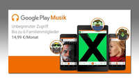 Google Play Music Familientarif