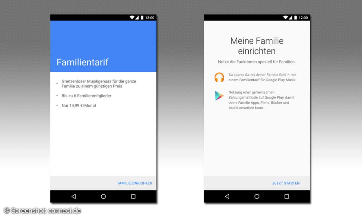 Google Play Music - Family Plan einrichten