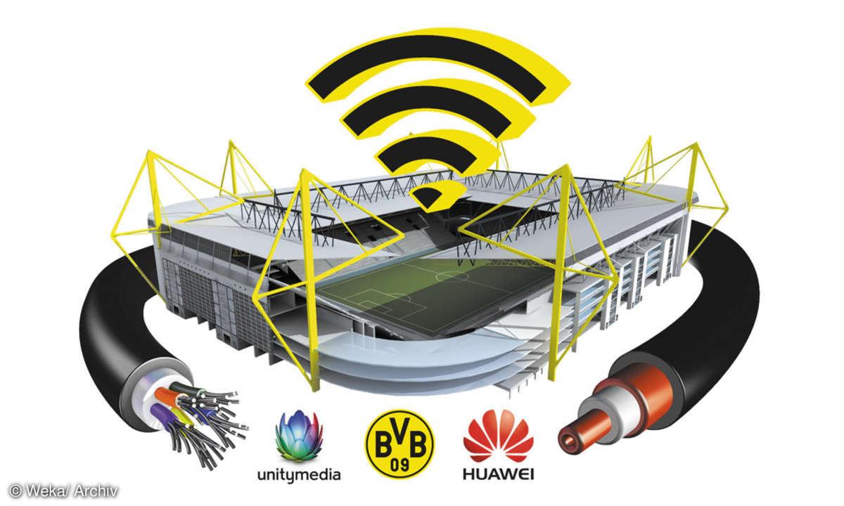 Unitymedia WLAN Signal