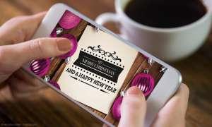 Weihnachten Smartphone Apps (Symbolbild)