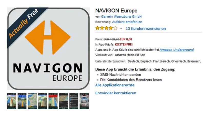 PREIS NAVIGON EUROPE IPHONE