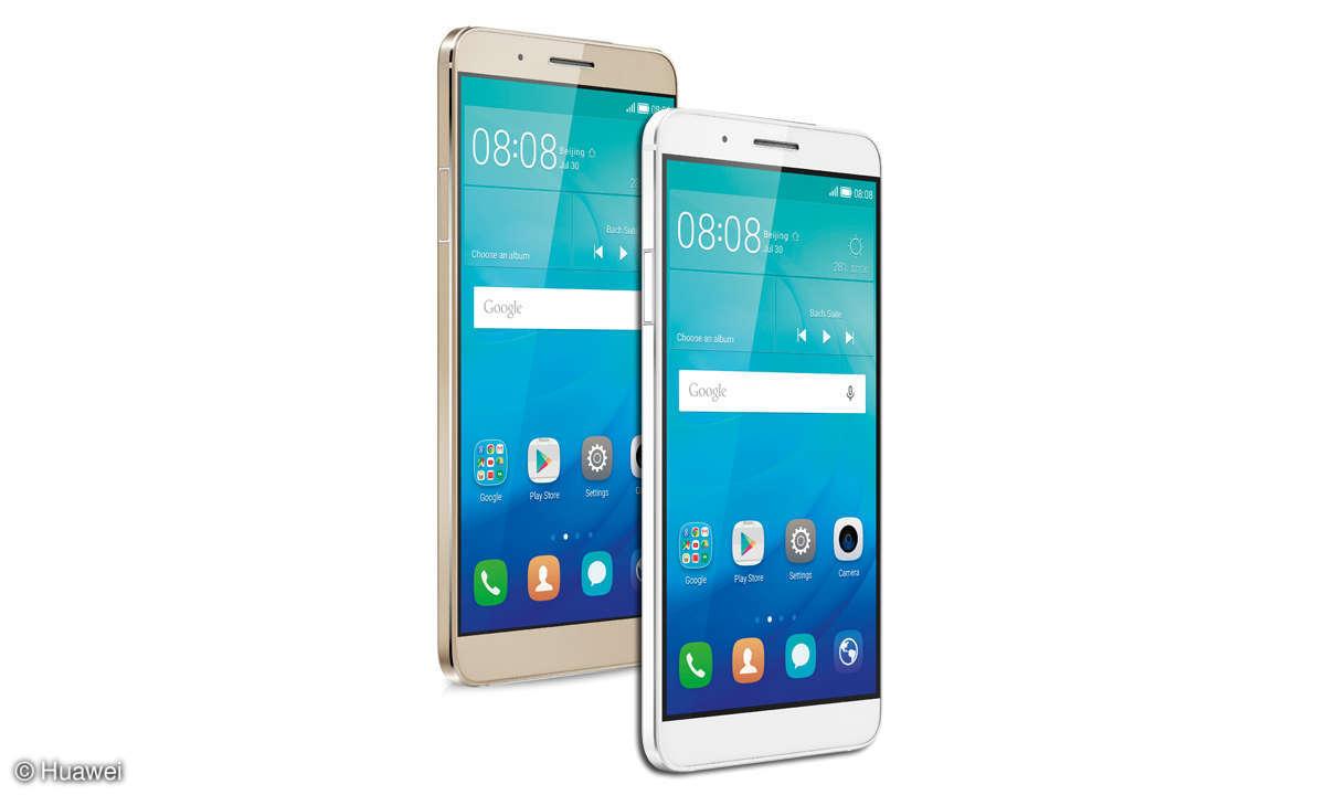 Huawei Shot X weiß und gold