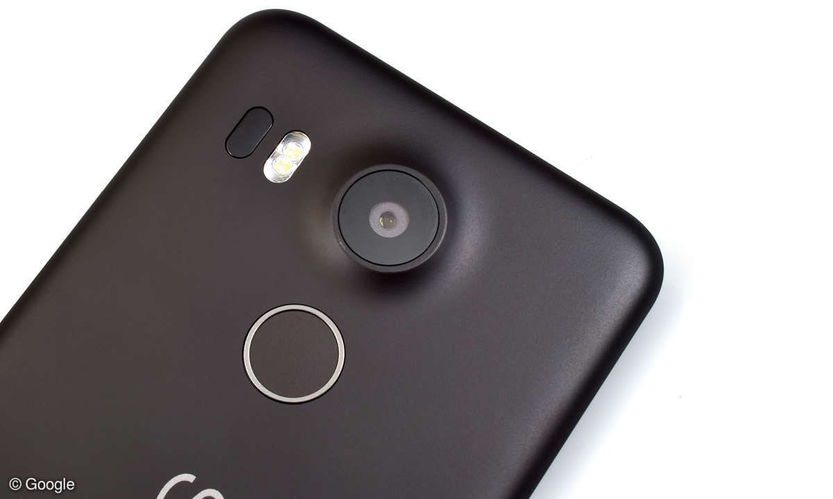 Nexus 5X LG Fingerabdrucksensor