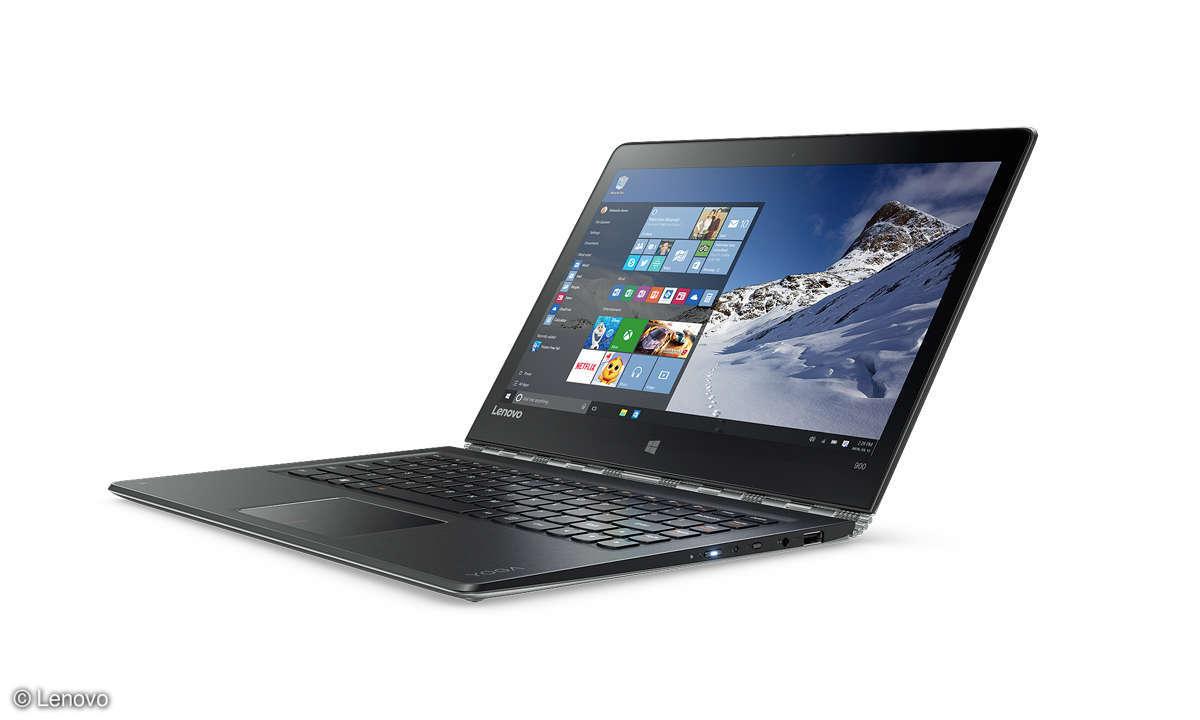 Lenovo im Notebook-Modus