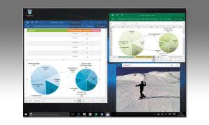 Microsoft Multitasking Bildschirm