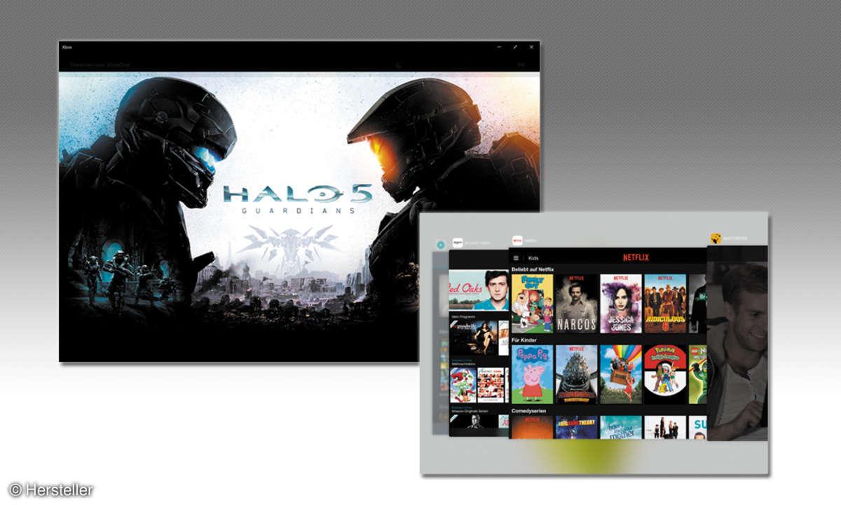 Multimedia - Halo und Videostreaming