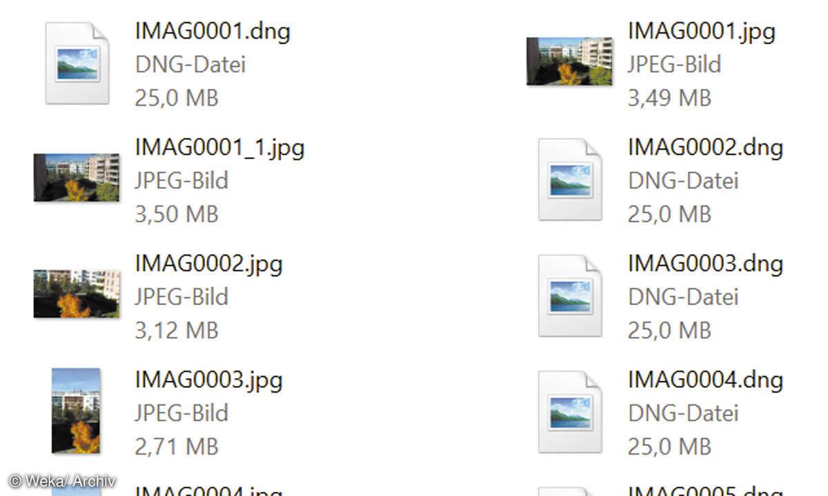 RAW-Dateien