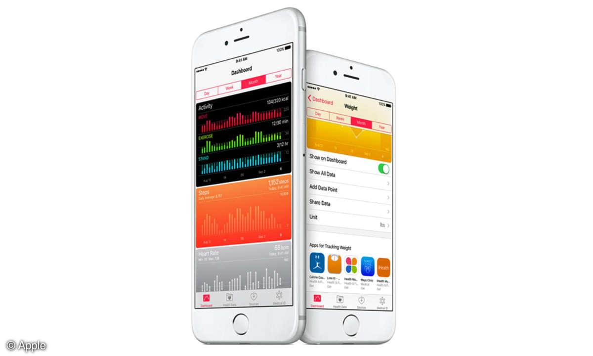 iOS 9.3 Health App