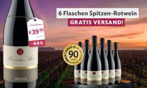 6 Flaschen Premium Rotwein