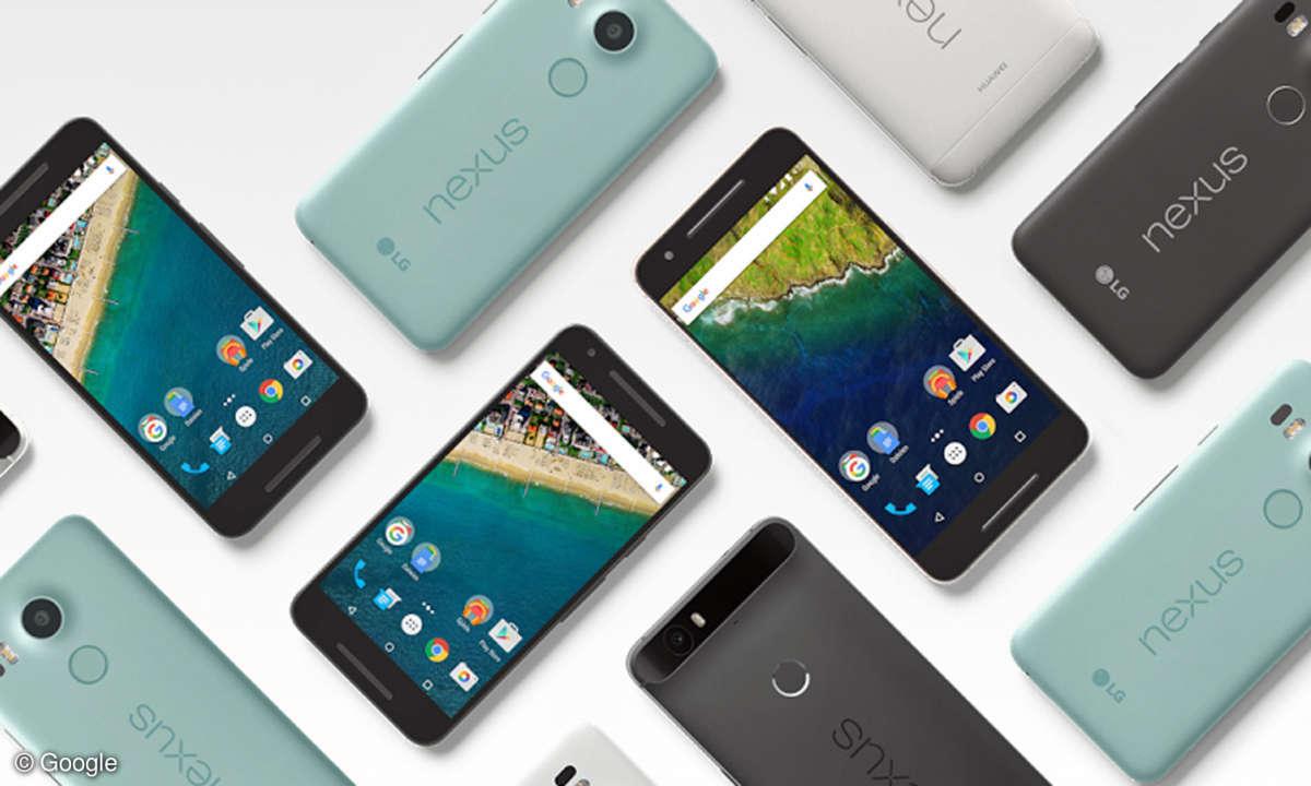 Nexus 5X und Nexus 6P