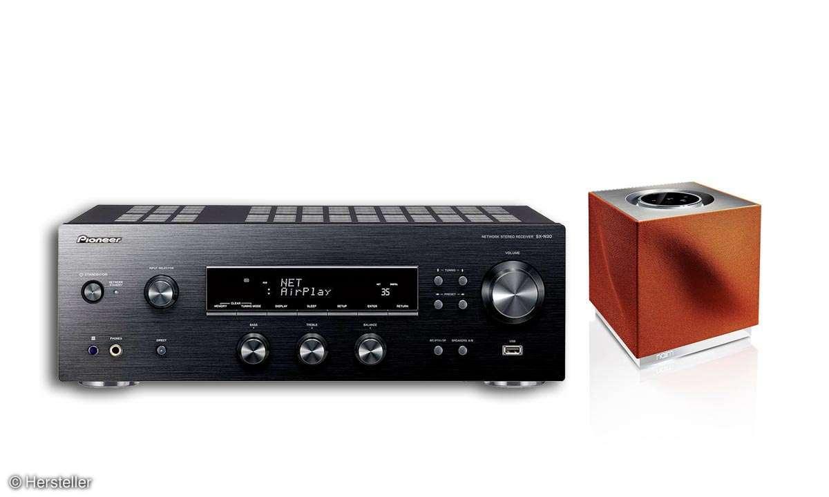 NAIM MUSO QB und Pioneer SX-N30