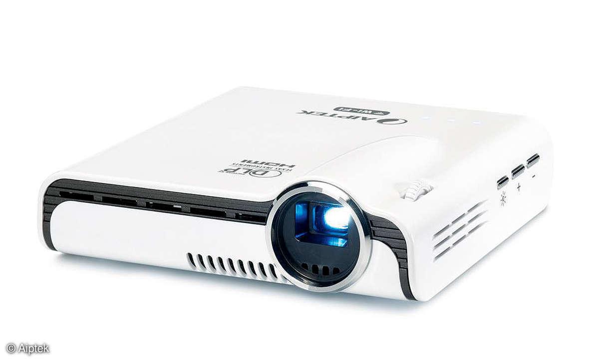 Mini-Projektor Aiptek Pocket Cinema A100W