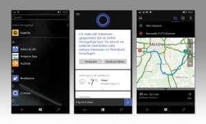 Screenshots Lumia 550