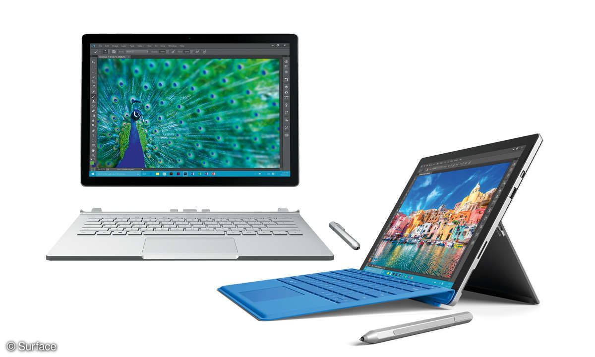 Surface Book und Surface Pro4