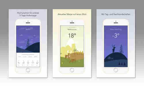 beste wetter app ios