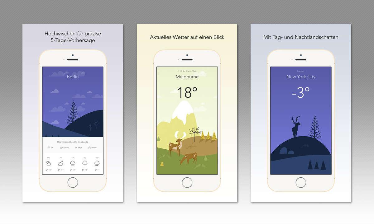 iOS-App Wild Weather