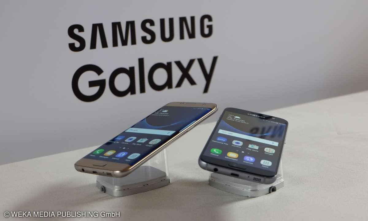 Samsung Galaxy S7 und S7 Edge Hands-On