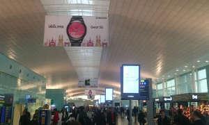 MWC 2016: Ankunft am Flughafen
