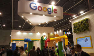 MWC 2016: Google Stand