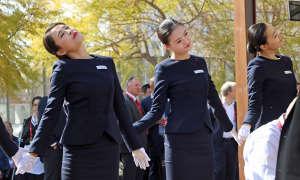 MWC 2016: Tanzeinlage bei Huawei