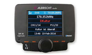 Albrecht DR56 Autoradio Adapter