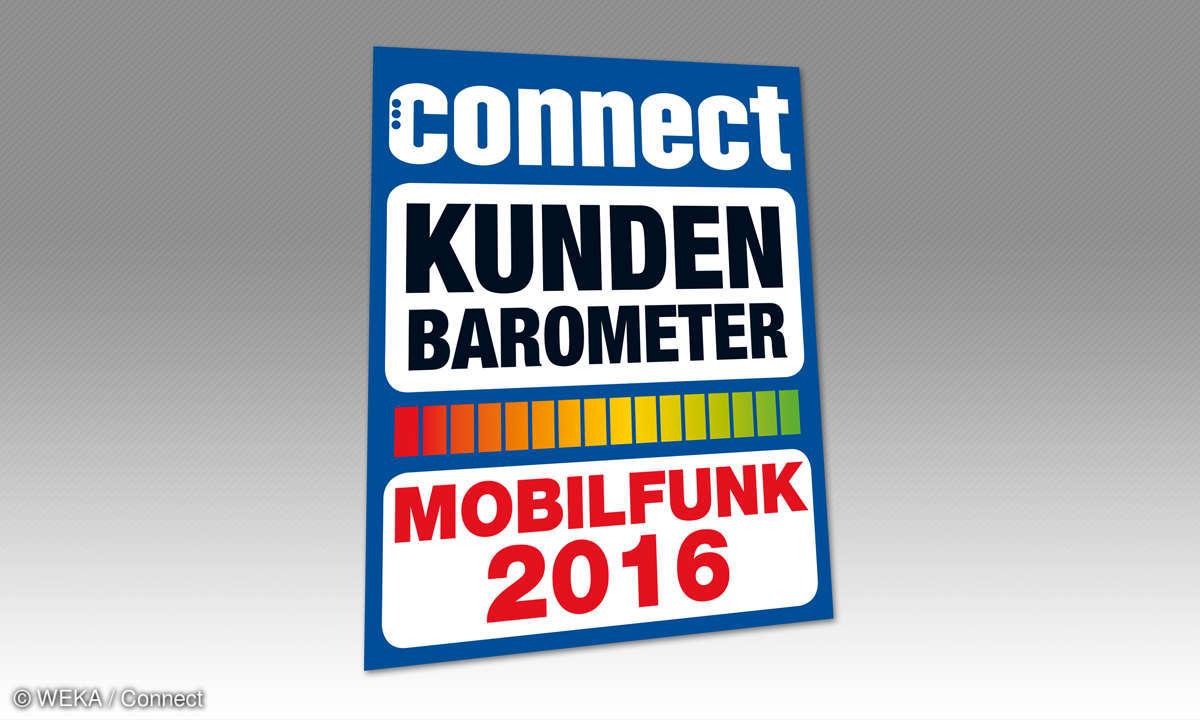 Connect Kundenbarometer Mobilfunk 2016