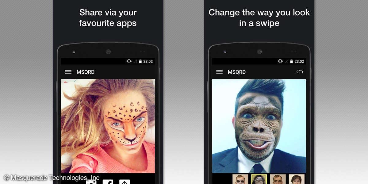 MSQRD App für Android