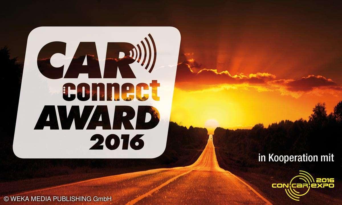 Car Connect Award 2016, Aufmacher Key Visual