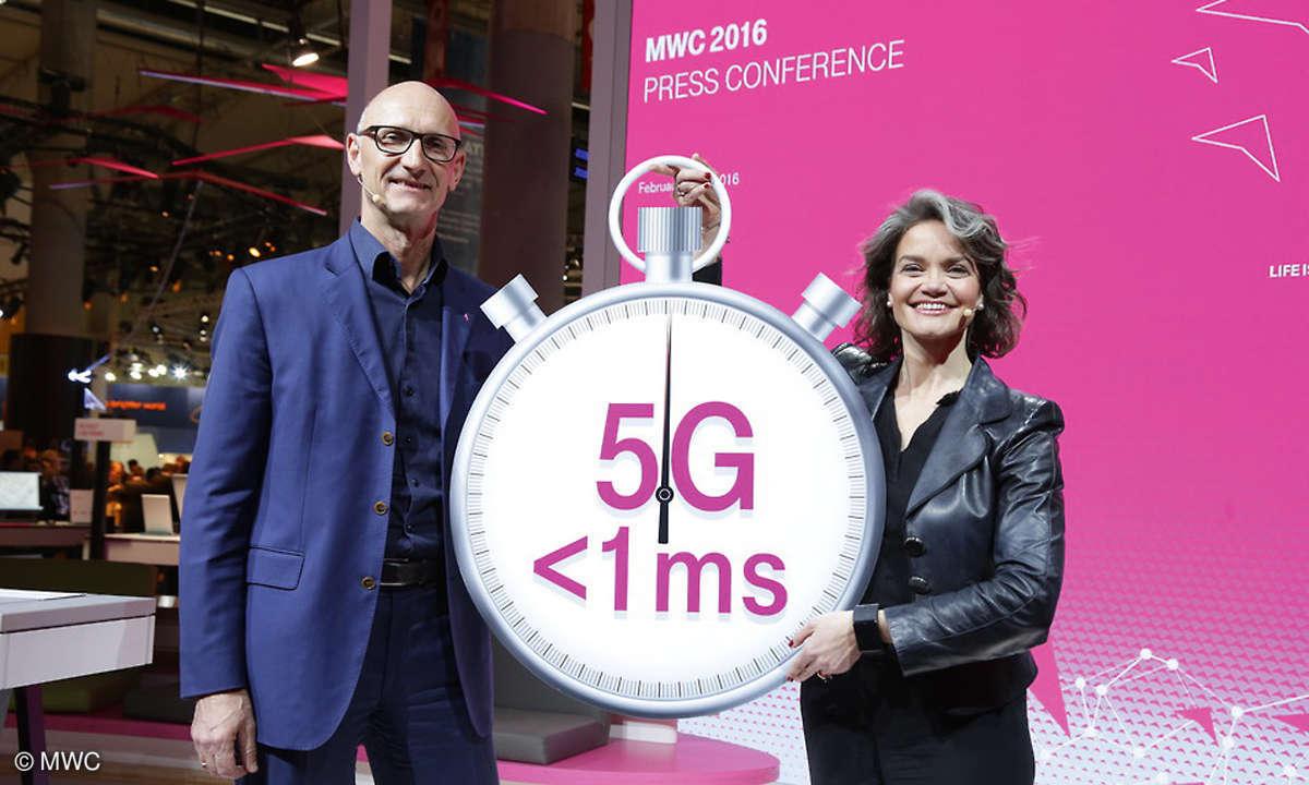5G - MWC Pressekonferenz