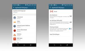 Screenshot: App-Benachrichtigungen priorisieren
