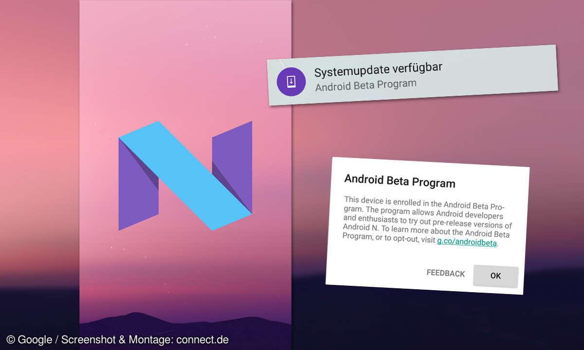 Android N Beta via OTA Update installieren
