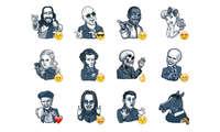 Famous Characters - Telegram Sticker