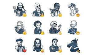 Famous Characters - Telegram Sticker
