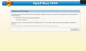 FritzBox Administrator-Passwort