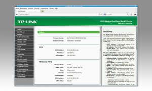 Firmware Update TP-Link