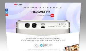 Huawei P9 kaufen: Vorbesteller-Aktion