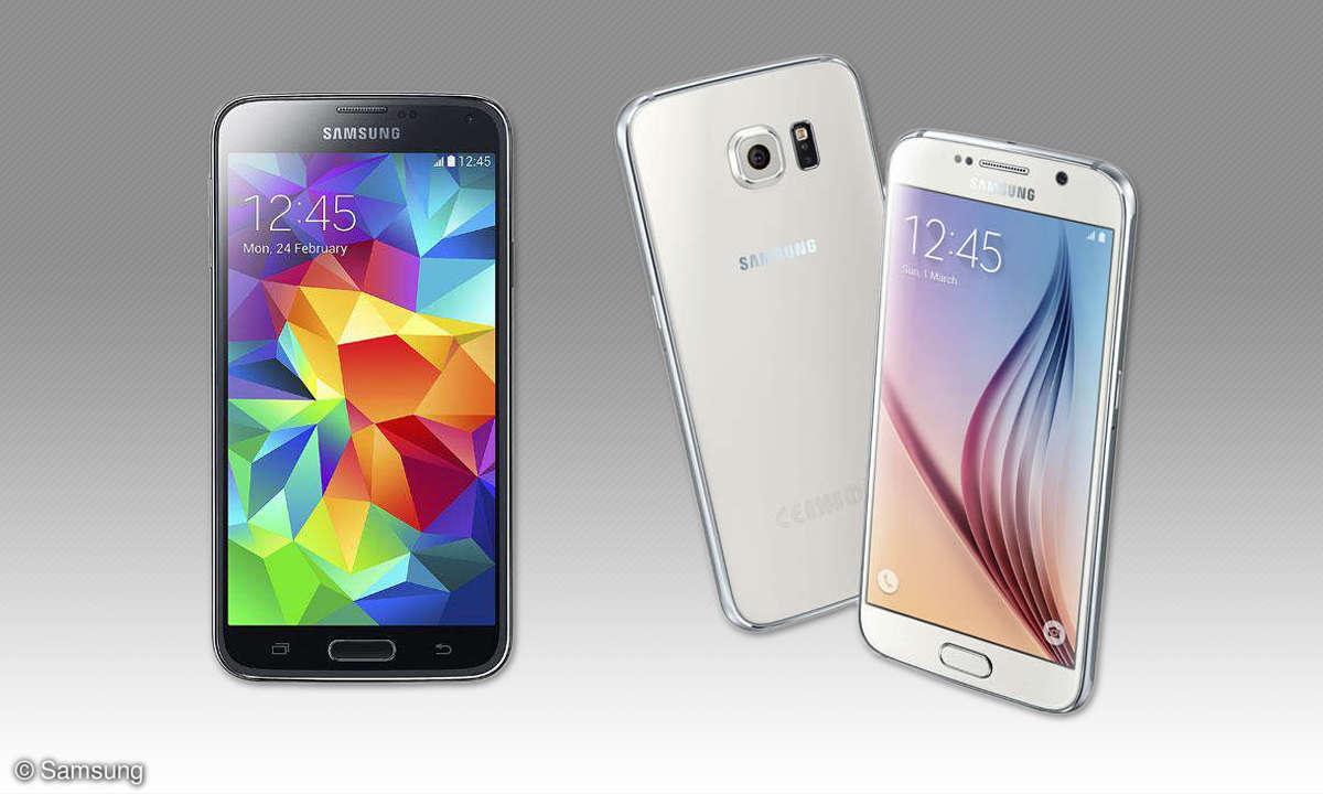 Galaxy S5 vs. Galaxy S6